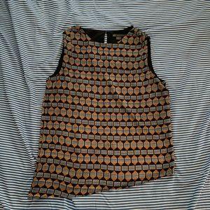 Armani Exchange sleeveless blouse